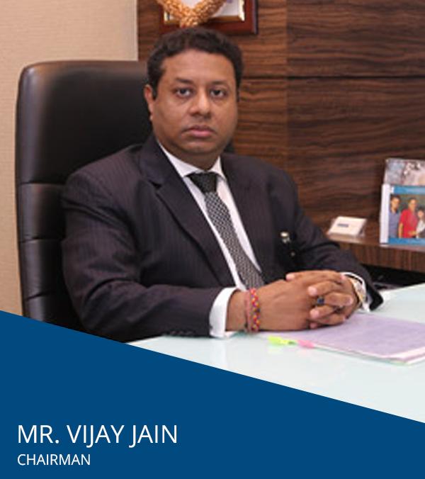 JP INFRA Management Team   Chairman Mr  Vijay Jain, MD- Mr