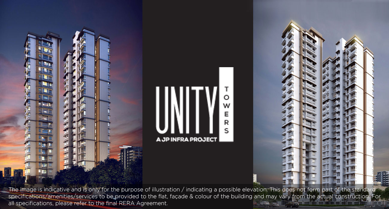 unity tower in Worli - JP INFRA